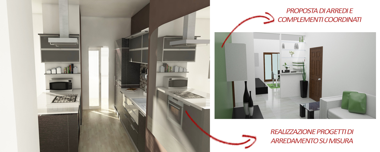 Progetti personalizzati e arredo online for Cannavera arredamento